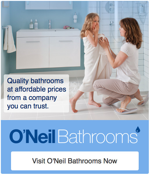 O'Neil bathrooms in Ayrshire