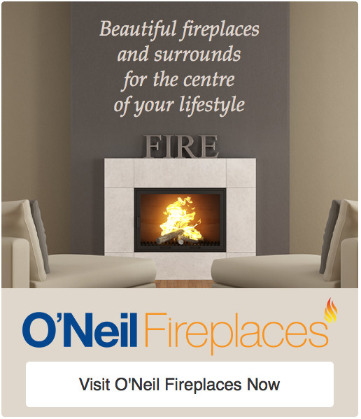 O'Neil fireplaces in Ayrshire